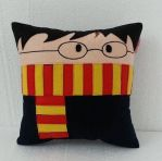 Handmade Gryffindor Harry Potter Plush Pillow by RbitencourtUSA