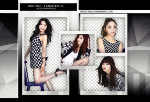 PACK PNG 125 | GIRLS DAY by MAGIC-PNGS