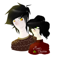 CONTEST PRIZE-Rapidraven:Christmas Jumpers are Fun by gayloqu