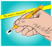 AWESOME PENCIL by Shozen