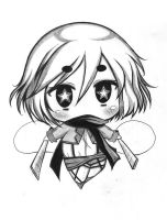 [Request] Mikasa Ackerman Chibi for psych0dog by AnimexL0ver17