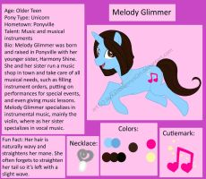 MLP: Melody Glimmer by pixiesera