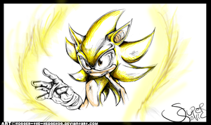 Super Sonic:: by SpyxedDemon