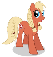 Danish Bronies mascot revised by LittleHybridShila
