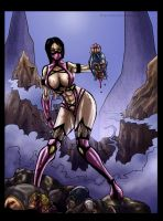 Mileena colours by Anubis (collaboration) by Robus2