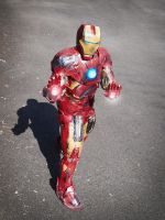 Iron Man Mk VII Cosplay by zahnpasta