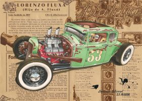 '30 Ford Five Window Rat Rod by DominikScherrer