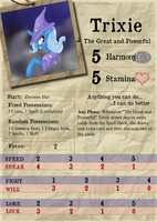 Trixie - Investigator Card by Konsumo
