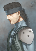 SOLID SNAKE by ilyesgnei