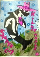 Smart guy as a killer whale by 932-2063