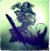 Elphaba by telegrafixs