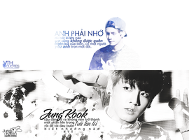 [Photo Quotes] TaeKook VKook by linhchinie