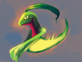 Grovyle Request by MusicalCombusken