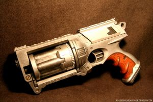 Stainless Steel Nerf Maverick by JohnsonArms