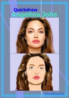 Angelina Jolie quickdraw by Pickle8Weasel92