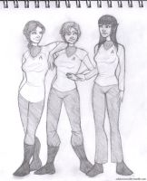 Star Trek Genderbend Sketch by ashesto