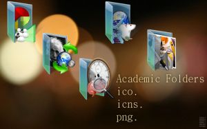 Academic Folders by centpushups