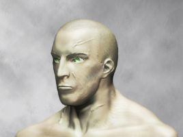 The face of a Spartan by Nejarius