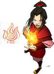 Fire - Avatar The Last Airbender by fatalgod23