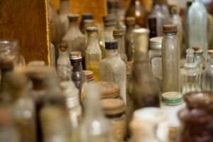 Antique Bottles Stock1 by dastotenkopf-stock