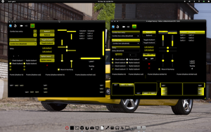 Yellow and Black Attack GTK v3 by CraazyT