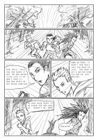 War of Dominion sketch page 1 by JoriV