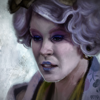 Effie Trinket by daPatches