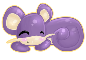 Rattata - 19 by Kiytt