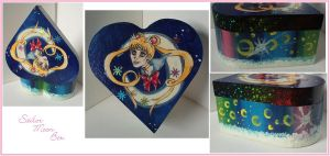 Sailor Moon Box by CaptainDunkenstein