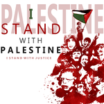 I stand with Palestine by Sharoof