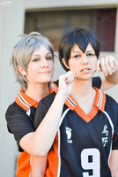 The two setter - Haikyuu!! by Junicchi