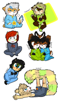 -Doodle page: 02 -Babies- by SC00TAH