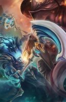 ChampThresh vs Lucian by FalseDelusion