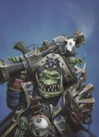 Space Ork by MartinHanford1974
