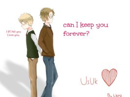 UsUk- can I keep you forever? by lauriitaxuly