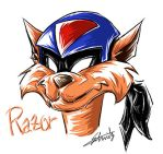 Razor in SWAT Kats by Schwitz