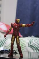 Iron man sculpting by domcalmet