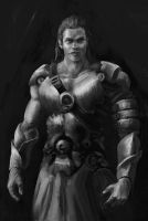 Achilles by moodyg
