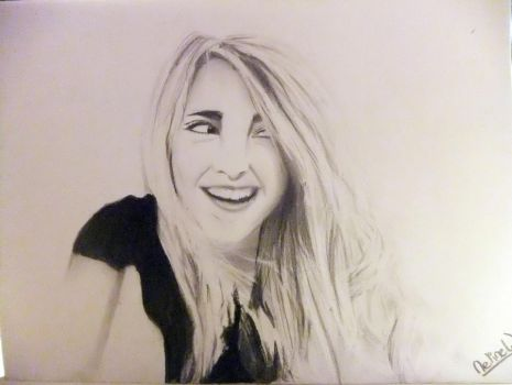 Drawing: Katelyn Tarver by Neline-ne