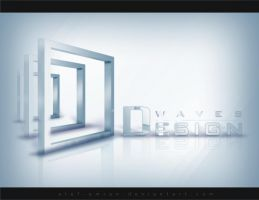 Design Waves Logo 01 by Atef-Emran