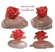 Rose bottles PNG by StarsColdNight