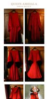 Making of Queen Amidala Dress by Riluna