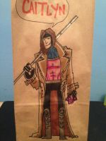 Gambit Lunch Bag by SpencerPlatt