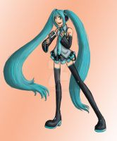 Vocaloid - Miku Print thing by akiwitch