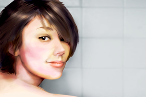 Personal test for painting skin by UnInfinitum