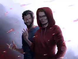 Teen Wolf FanArt:  I've got this by NinaKask