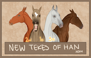 Kostyor, Melekush, Hyrdar and Yana are now at HAN by jassukassu