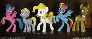 Unicon Pony Figures For Sale! by Clawed-Nyasu
