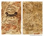 Marauder's Map by BeyondThePines