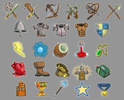 Zork- Interface Icons by Zubby